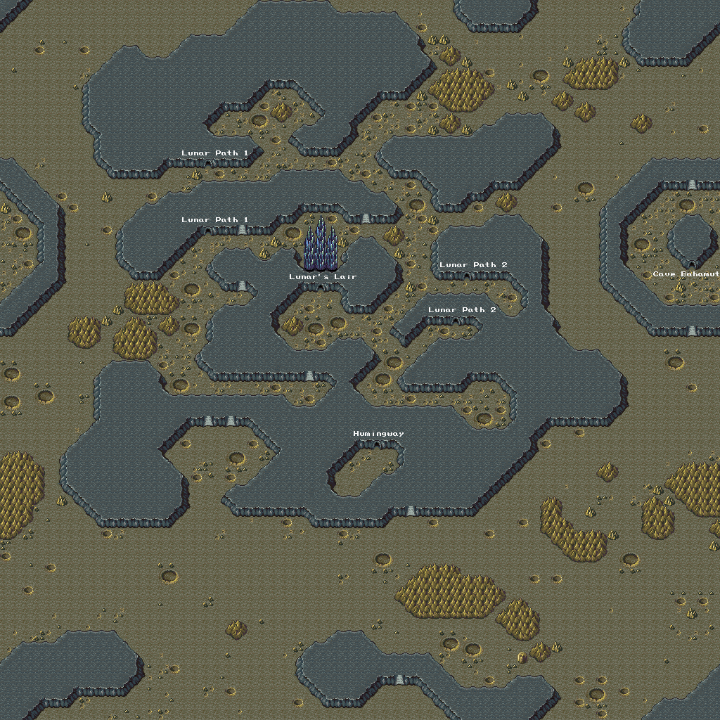 Final Fantasy II Game Maps - Ian-Albert.com