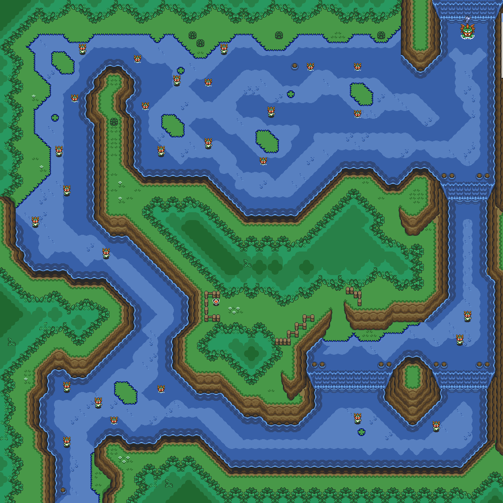 Legend of Zelda: A Link to the Past Maps - Ian-Albert com