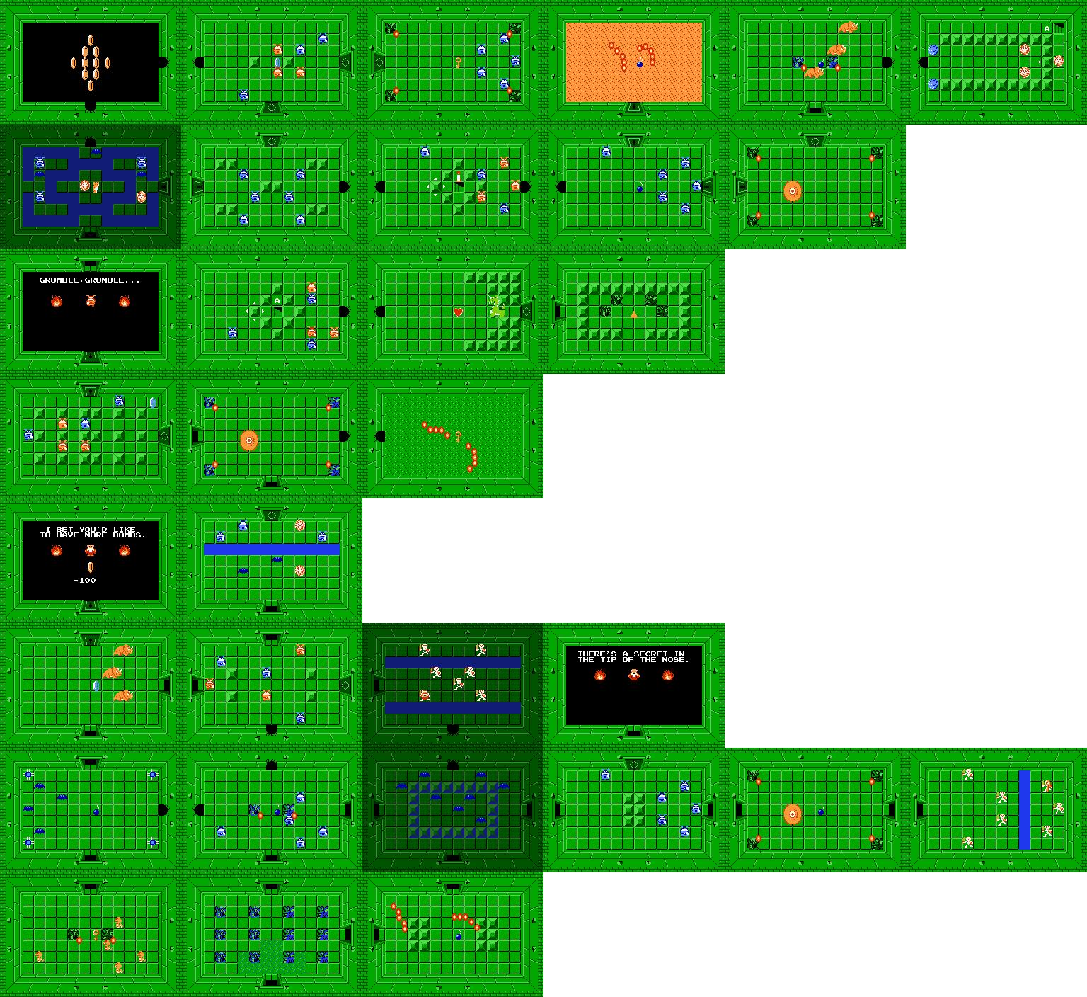 Legend of Zelda Maps - Ian-Albert.com