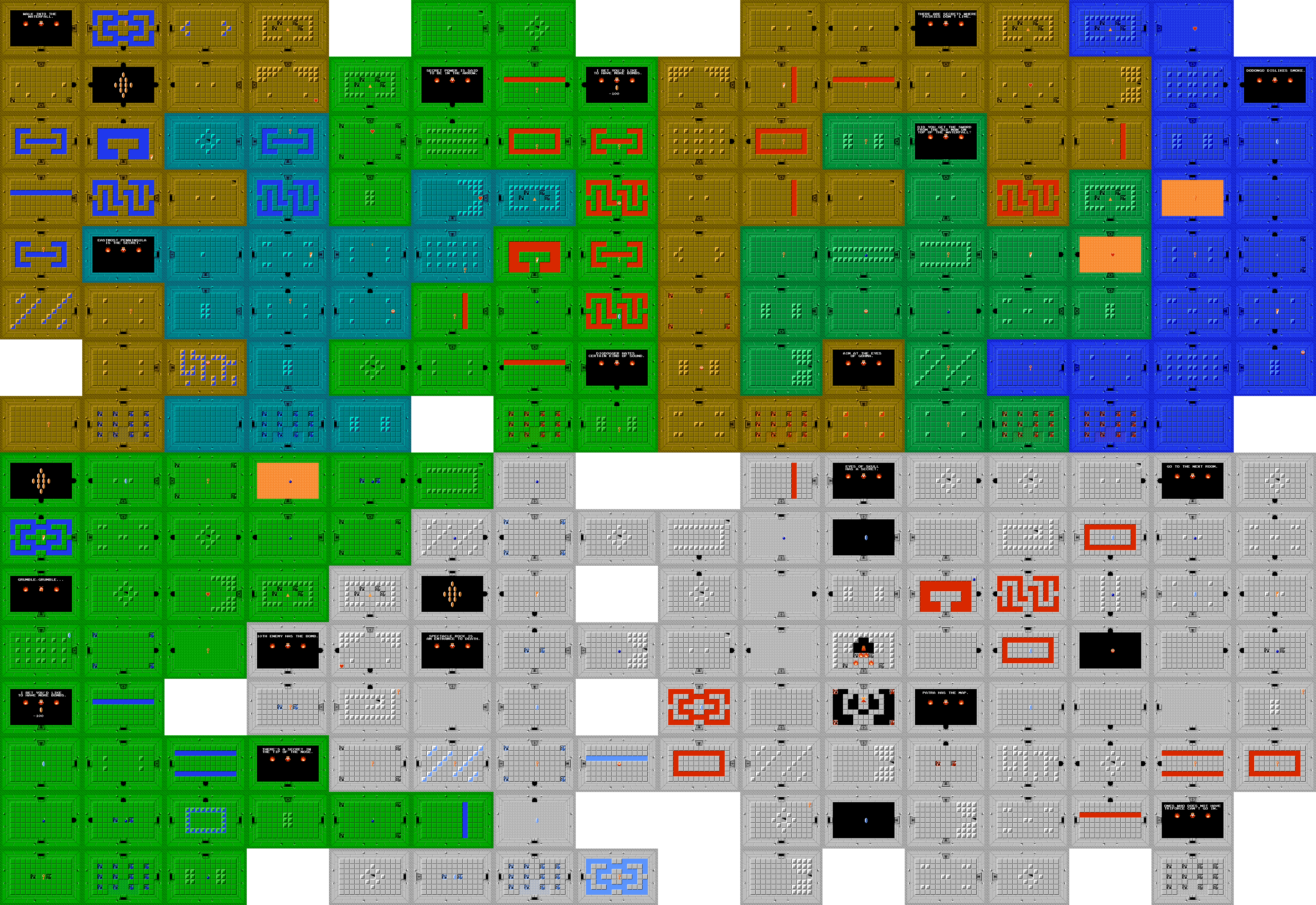 separated layers — map  dark . legend of zelda maps  ianalbertcom