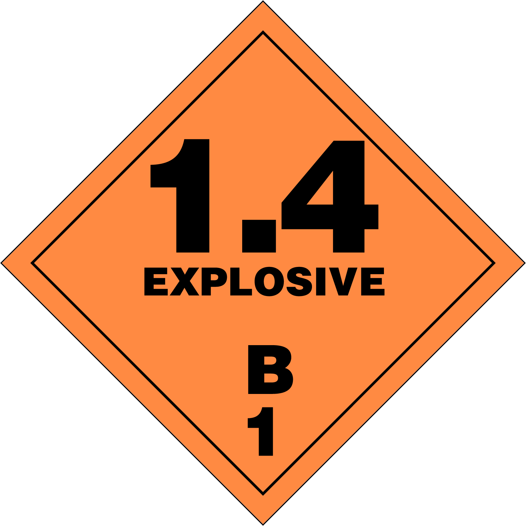 Playful image in printable hazmat placards